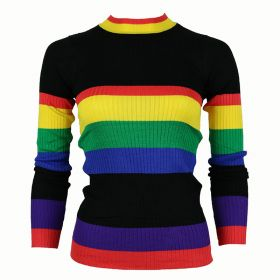 Zwart gestreepte trui